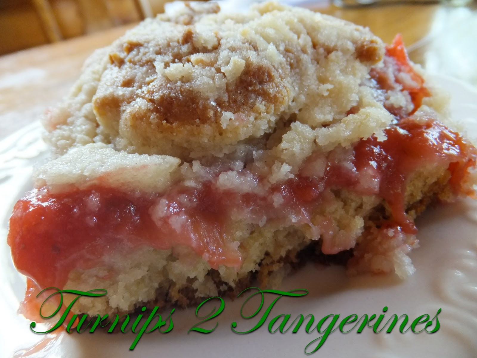 Turnips 2 Tangerines: Rhubarb-Strawberry Coffee Cake