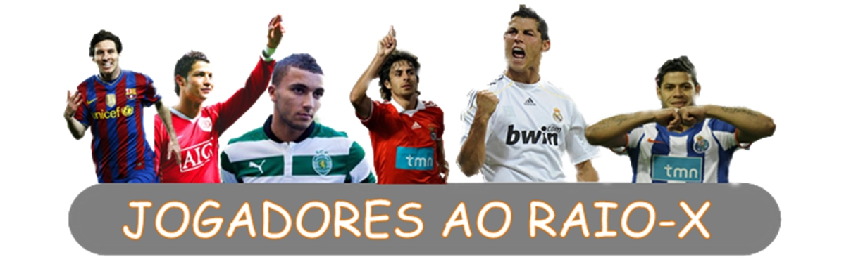 JOGADORES AO RAIO-X