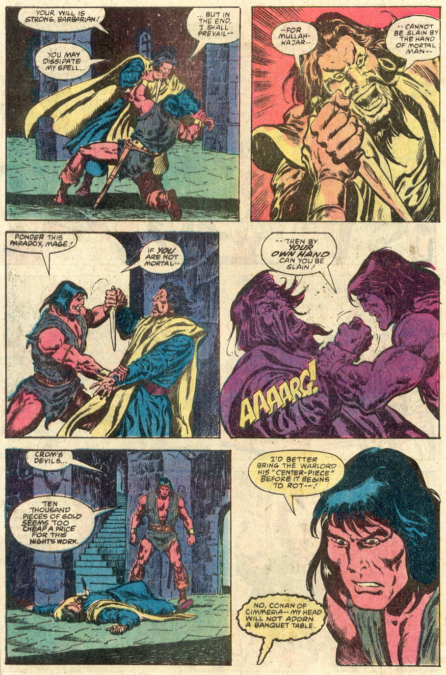 Conan the Barbarian (1970) Issue #117 #129 - English 22