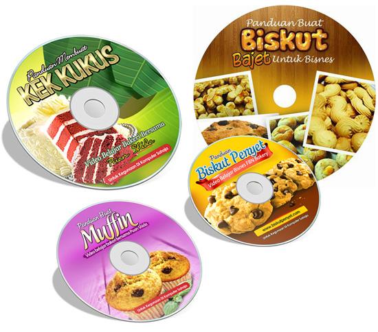 Panduan Memasak Pelbagai Jenis Biskut dan Kek Sedap