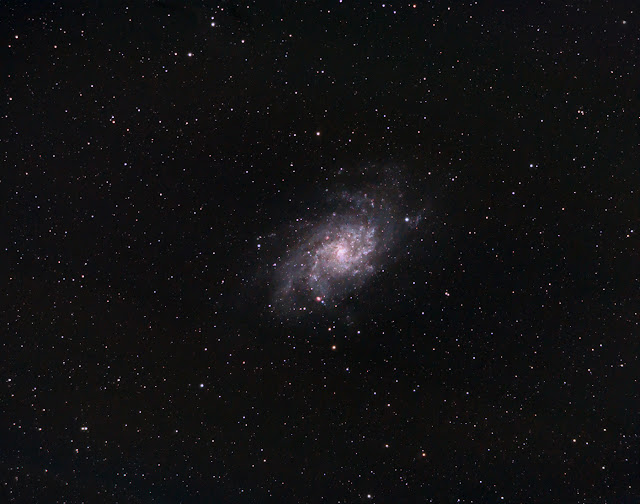 M33 Triangulum imaged with 80mm APO telescope