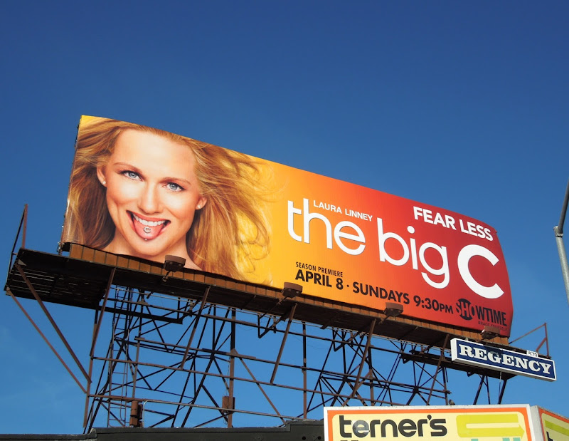 The Big C 3 Fear Less billboard