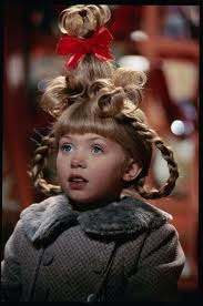 for cindy lou who i dont think its really that complicated first if you have bangs like she does then this would be the perfect costume for you - Christmas Movie Costumes