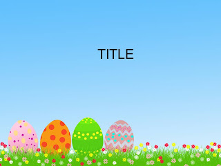 Free download Easter PowerPoint template 003A