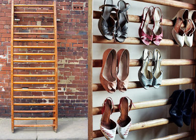 display / storage rack for high heels