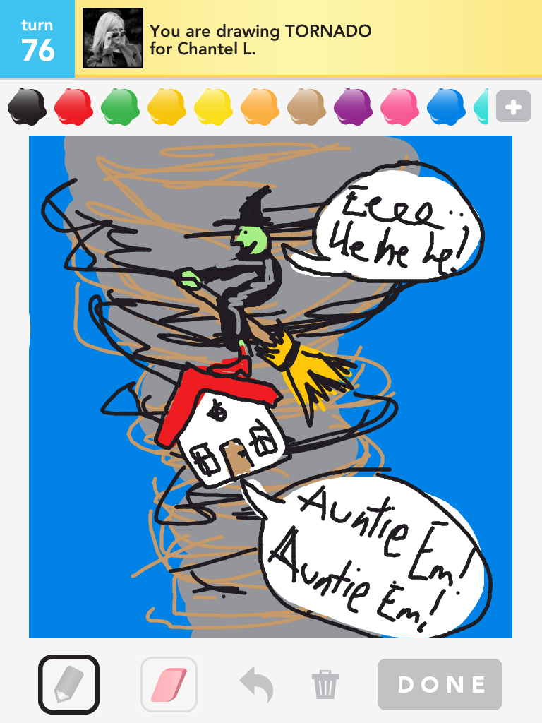 Shared Musings: How to be a Troll in Draw Something: Part 3
