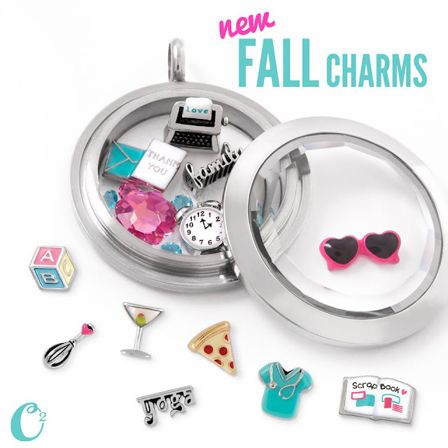Origami Owl Fall Charms 2015 available at StoriedCharms.origamiowl.com