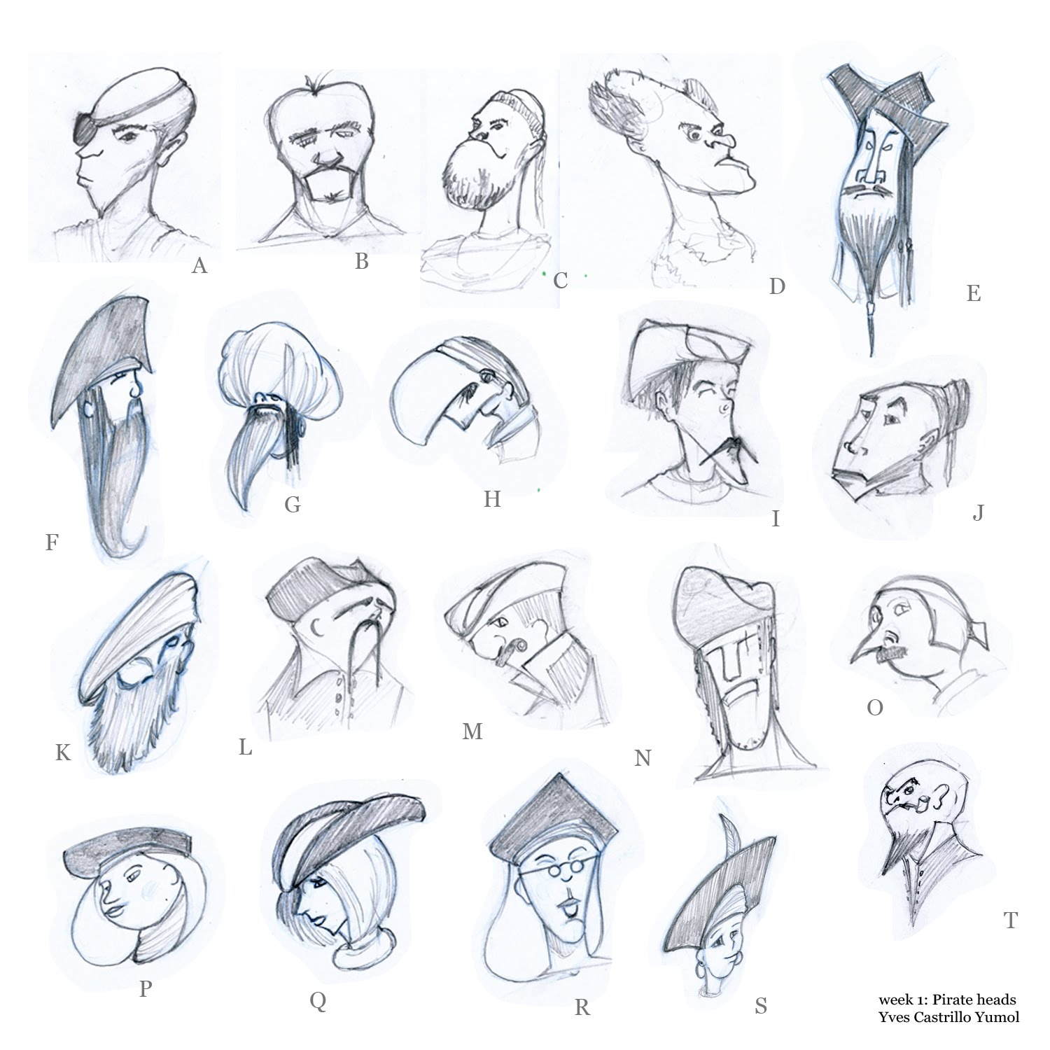 Character Design Where To Start : Yves yumol sketch cda start week intro to