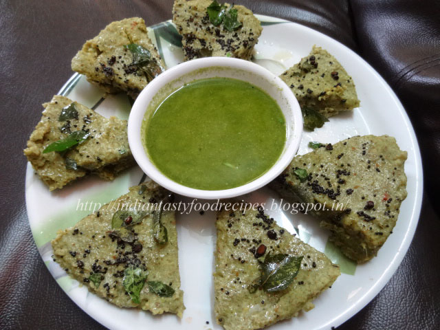 Indian tasty food recipes green gram dhokla dhoklas are a very popular tea time snack in gujarat it is easy to prepare and protein rich breakfast forumfinder Choice Image