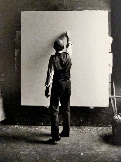 Lucio Fontana Milano 1964