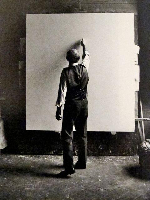 Lucio Fontana Milano 1964