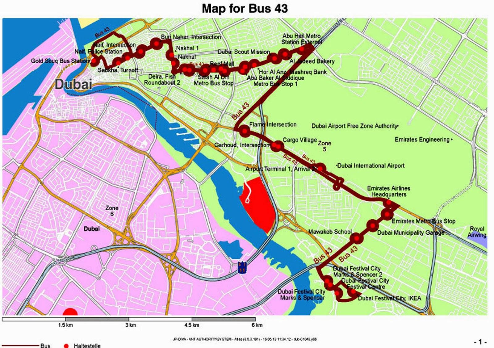 Dubai Constructions Update by Imre Solt RTA Launches New Public Bus