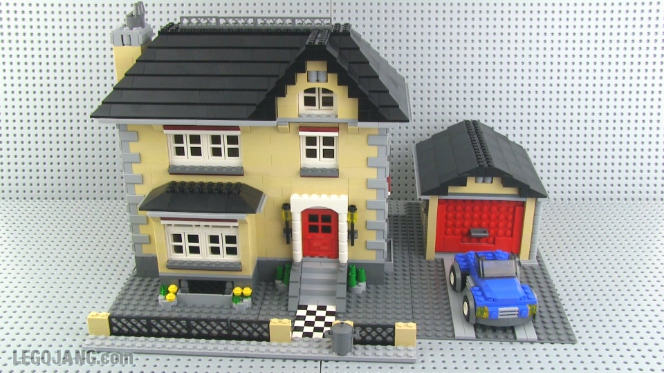Of a lego house video lego creator 4954 model town house mini review