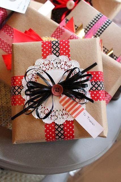 kraft hediye paketleri