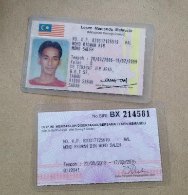Mohd Ridwan Bin Mohd Saleh No KP 820317-12-5519