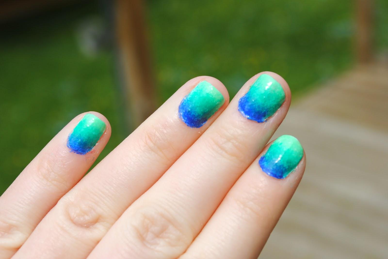 love & sunshine & nail polish .: Ombre Nails