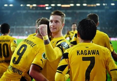 DFB Pokal : Dortmund vs St. Pauli 3-0