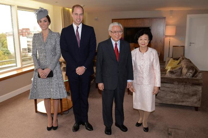 The President of the Republic of Singapore makes a state visit to the UK