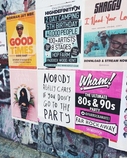 shoreditch east london posters wall art