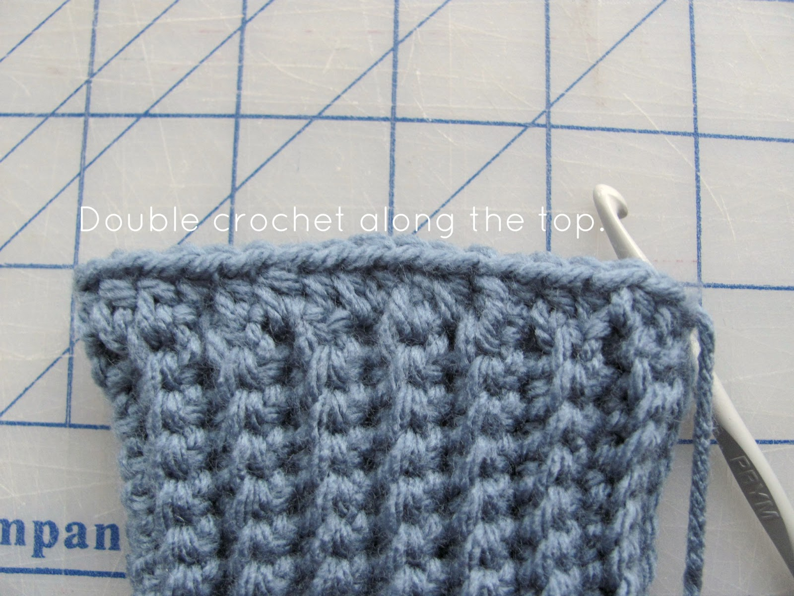 Crochet Stitches Hdc : half double crochet hdc 35 stitches along the top of your cuff