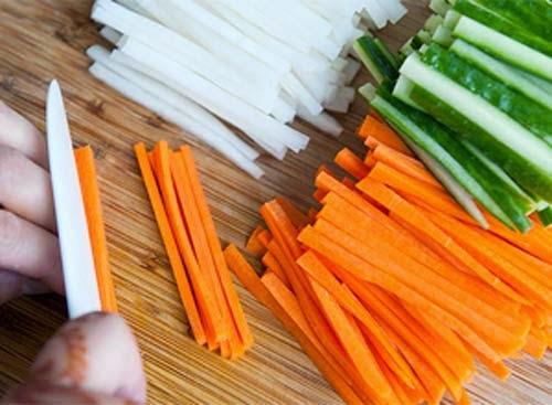Cách làm dưa góp su hào cà rốt giòn ngon1