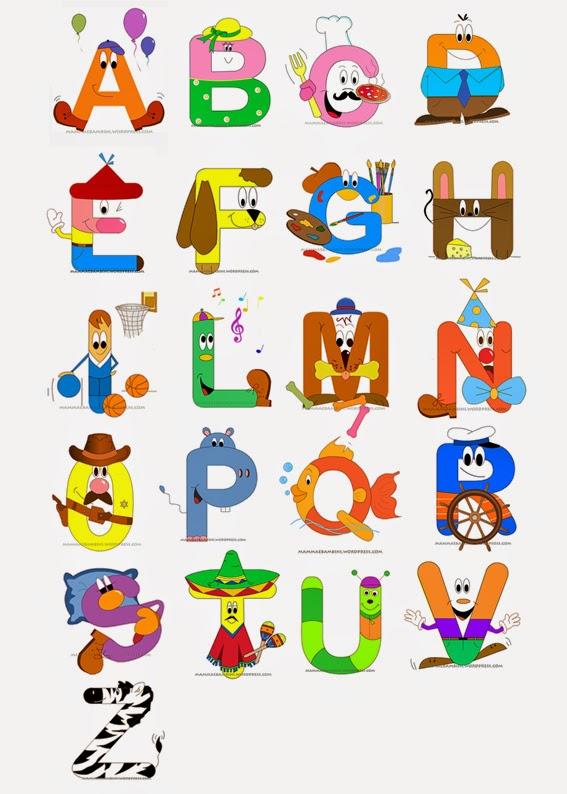 Diario Di Classe Arte Lettere Dell Alfabeto Animate
