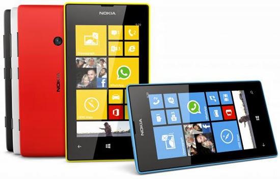 Change in the share of internal Aleuendozvon stand Lumia 521