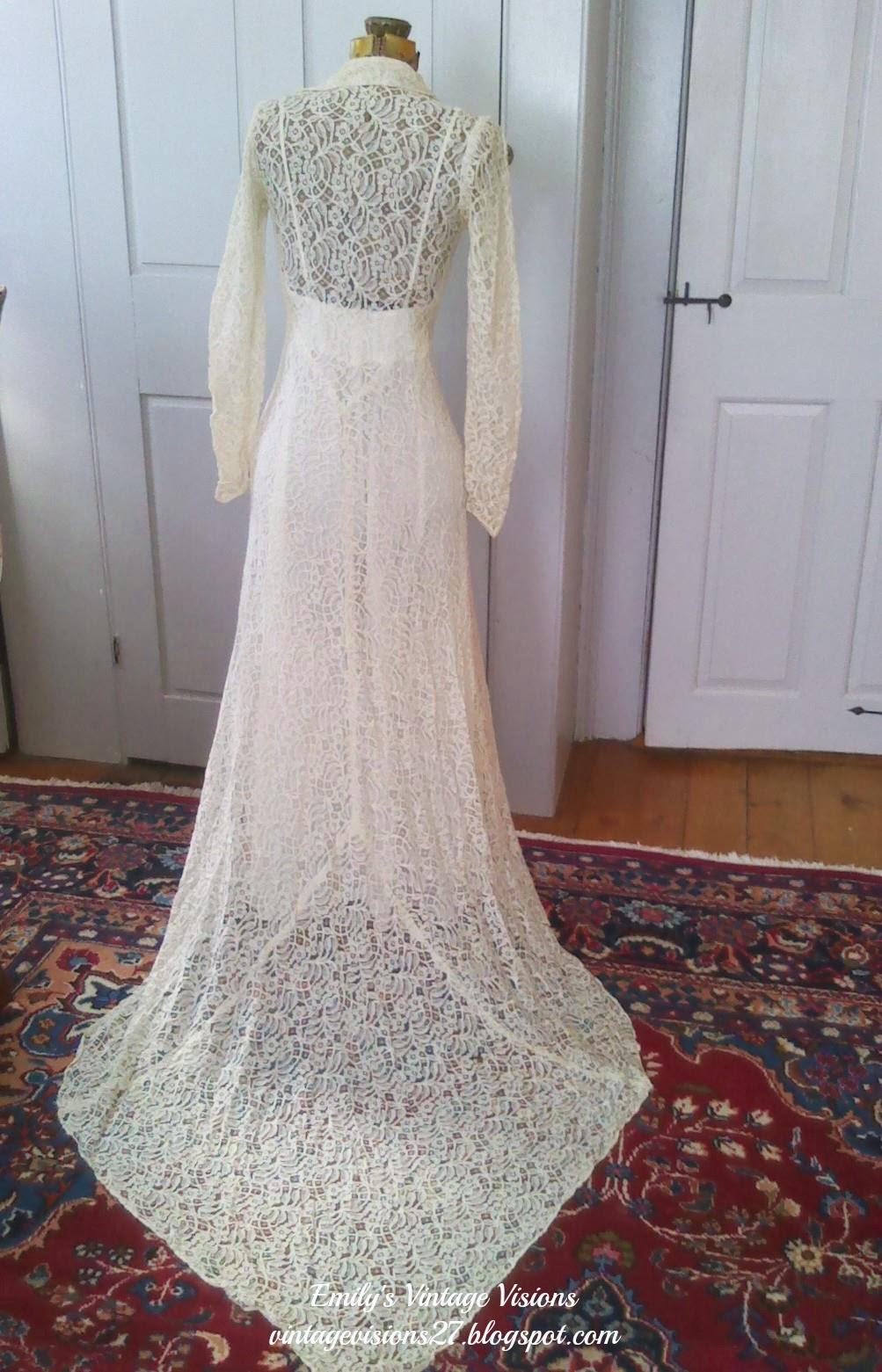 Emily\'s Vintage Visions: Vintage Lace Wedding Dresses