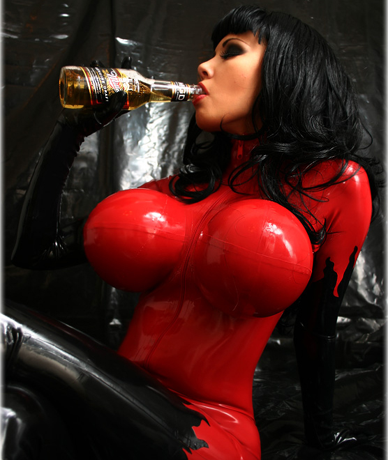 Simply remarkable Huge tits latex that