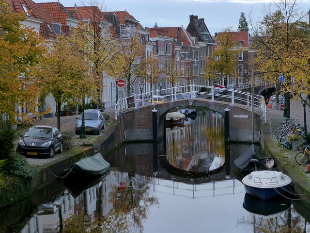 river in Leiden