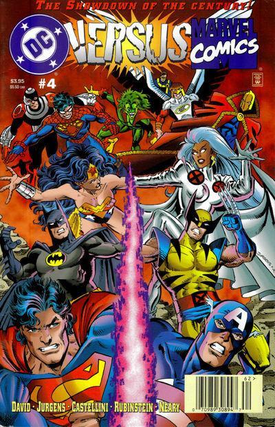 Dc vs marvel cómic