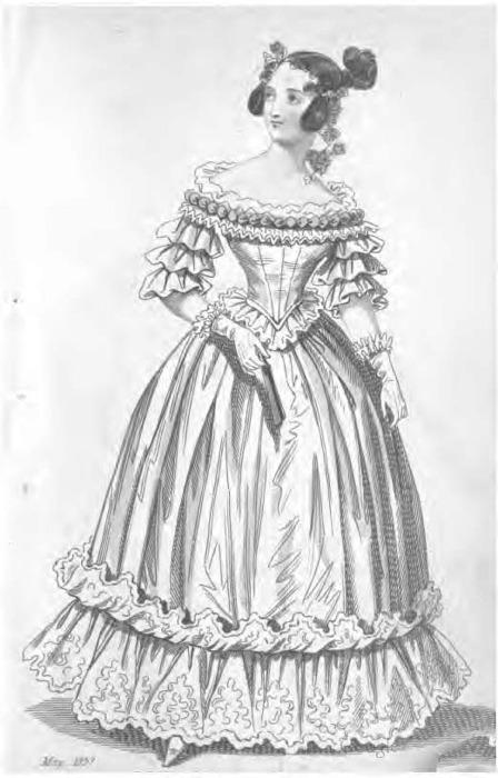 romantic era clothing romantic era fashion plates 1837
