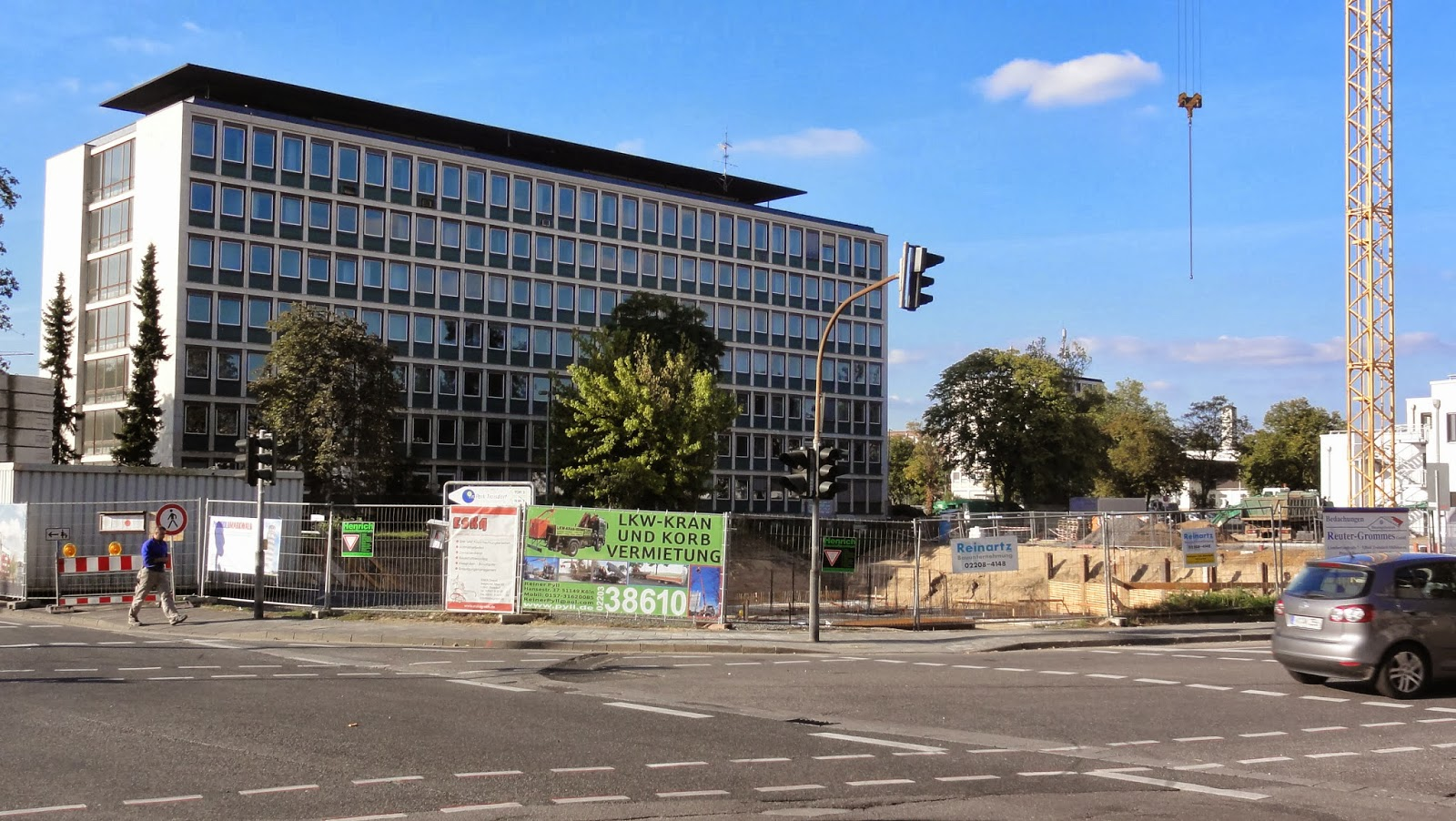 Troisdorf - Stadtquartier, Oktober 2013