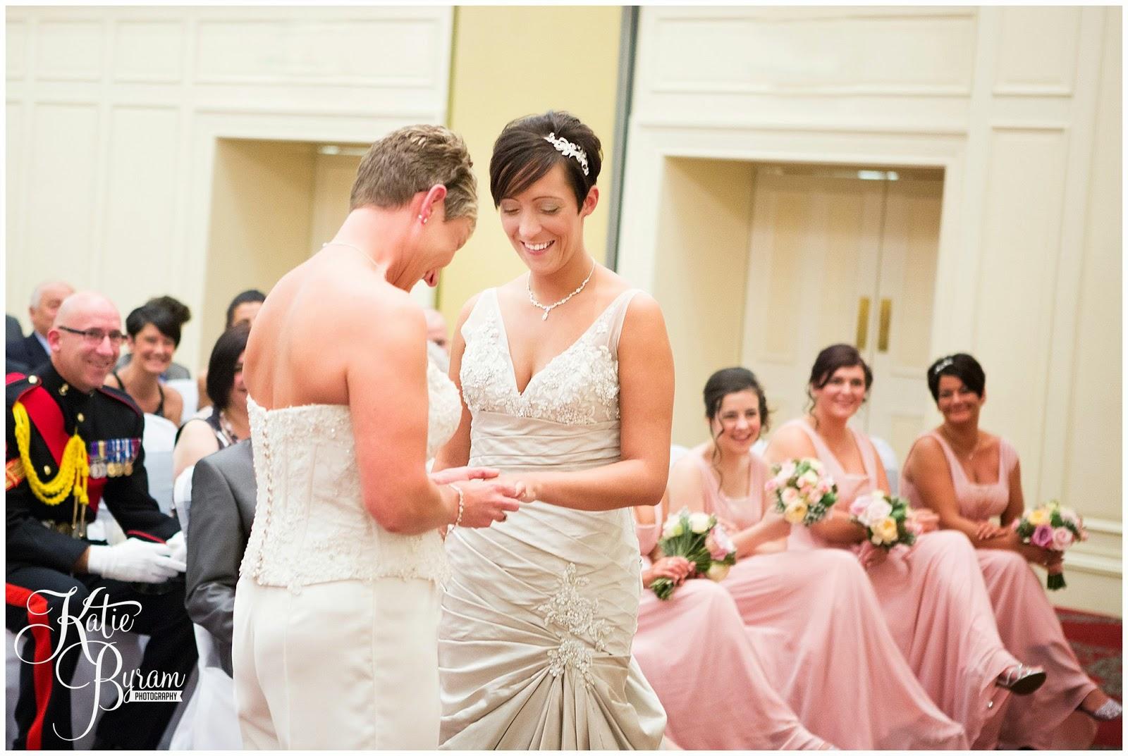 gisborough hall wedding, two brides, gay wedding, lesbian wedding, share the honest love, love my dress blog, katie byram photography