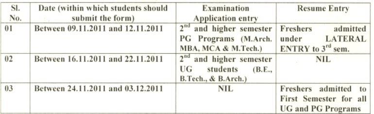 vtu applications examform vtu ac in