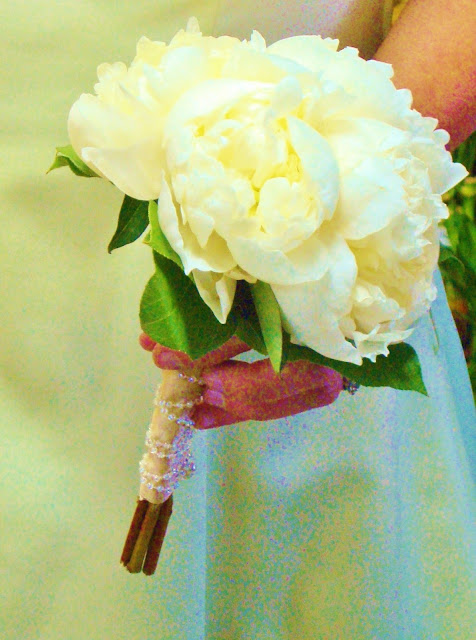 Petite Peony Bridal Bouquet by Stein Your Florist Co.