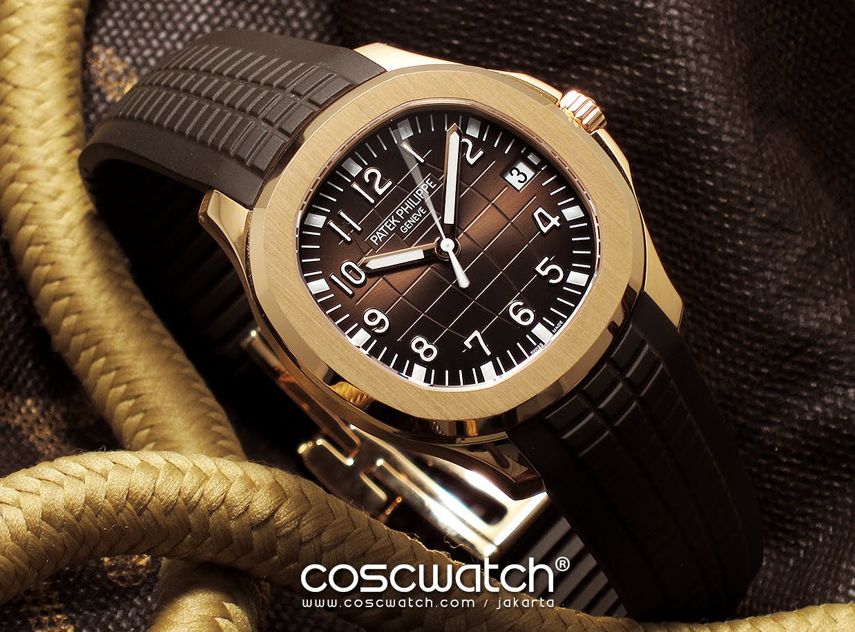 Patek Philippe - Aquanaut Rose Gold 5167R-001
