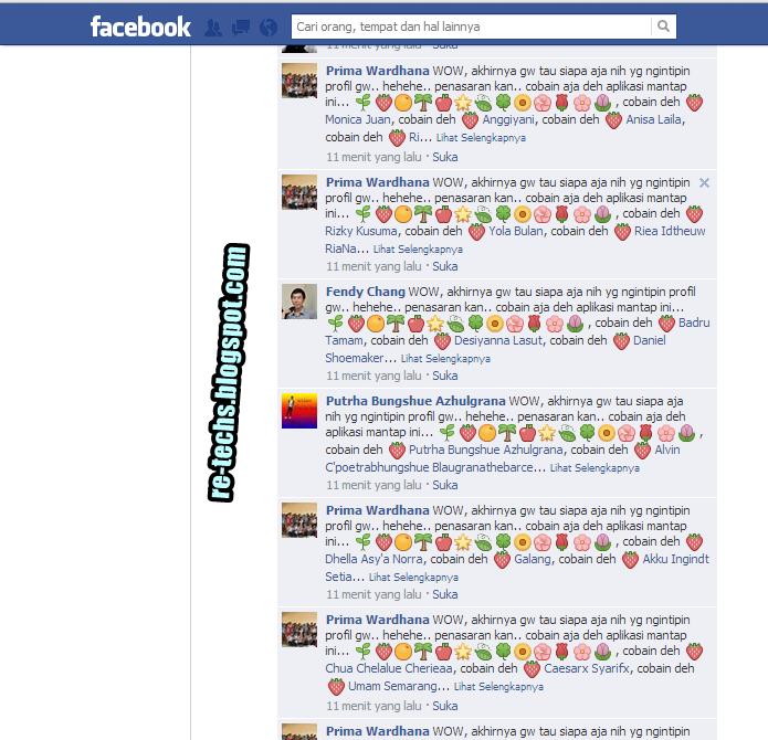 Berantas SPAMMER Facebook