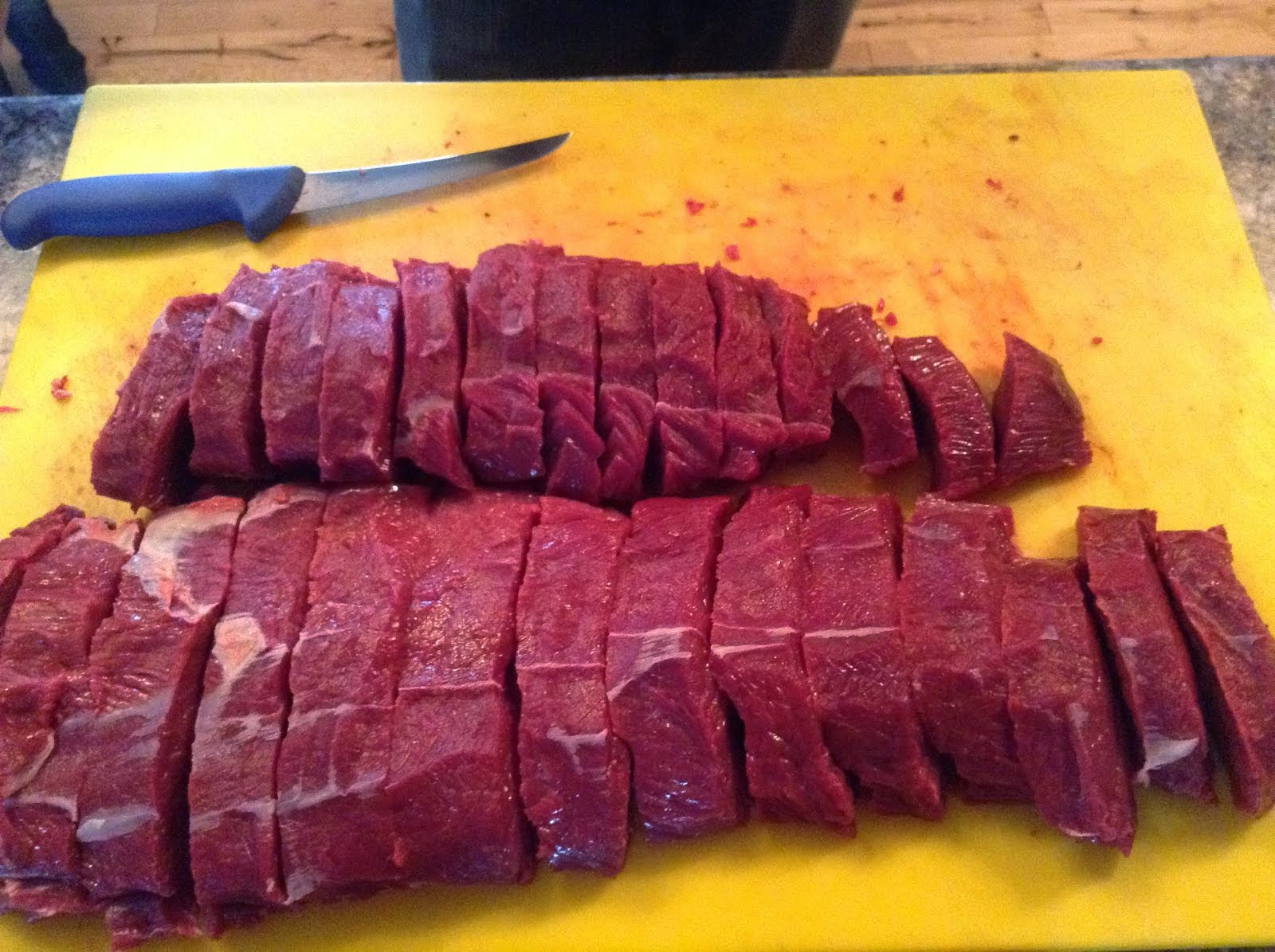 Fresh Organic Harvested by me Backstrap