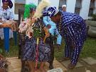 Cerimonia de Oluodé tradição Yoruba