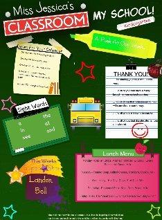 Elementary Teacher-Parent Communication: Classroom Newsletters