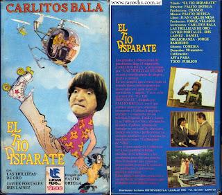 El tío disparate (1978) Carlitos Balá + Trillizas de Oro vhs