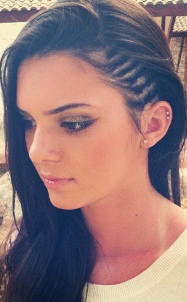 Kendall Jenner Cornrows