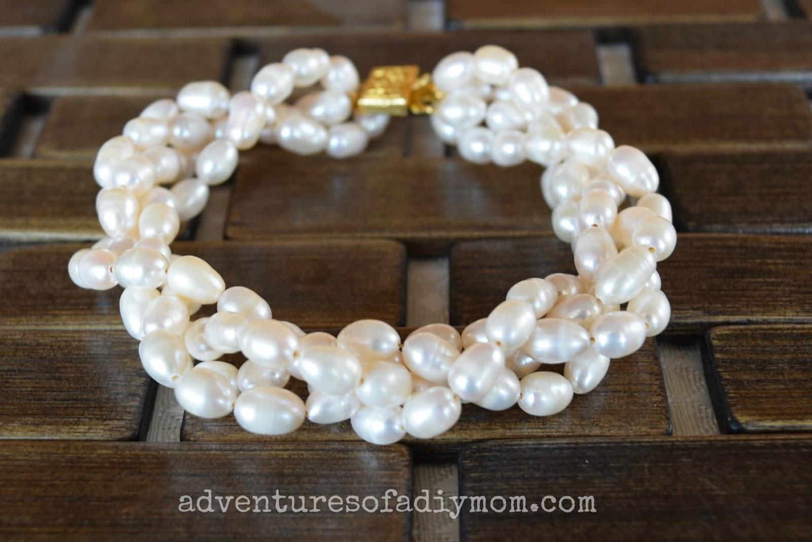 Twisted Freshwater Pearl Bracelet