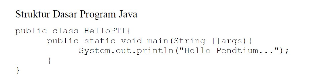 Kompilasi Program Java