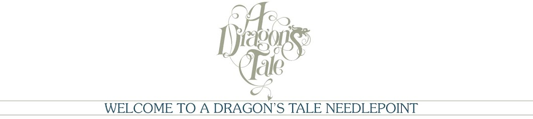 A Dragon's Tale  Needlepoint