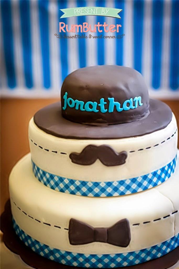 Rumbutter Sweet Corner Dessert Table Jonathans 1st Birthday
