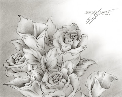 Flowers Drawings