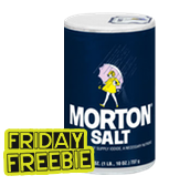 New SavingStar Coupon: FREE Morton Plain Or Iodized Table Salt