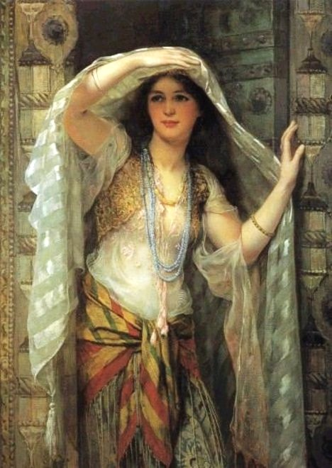 Arab art nude woman photo images 36